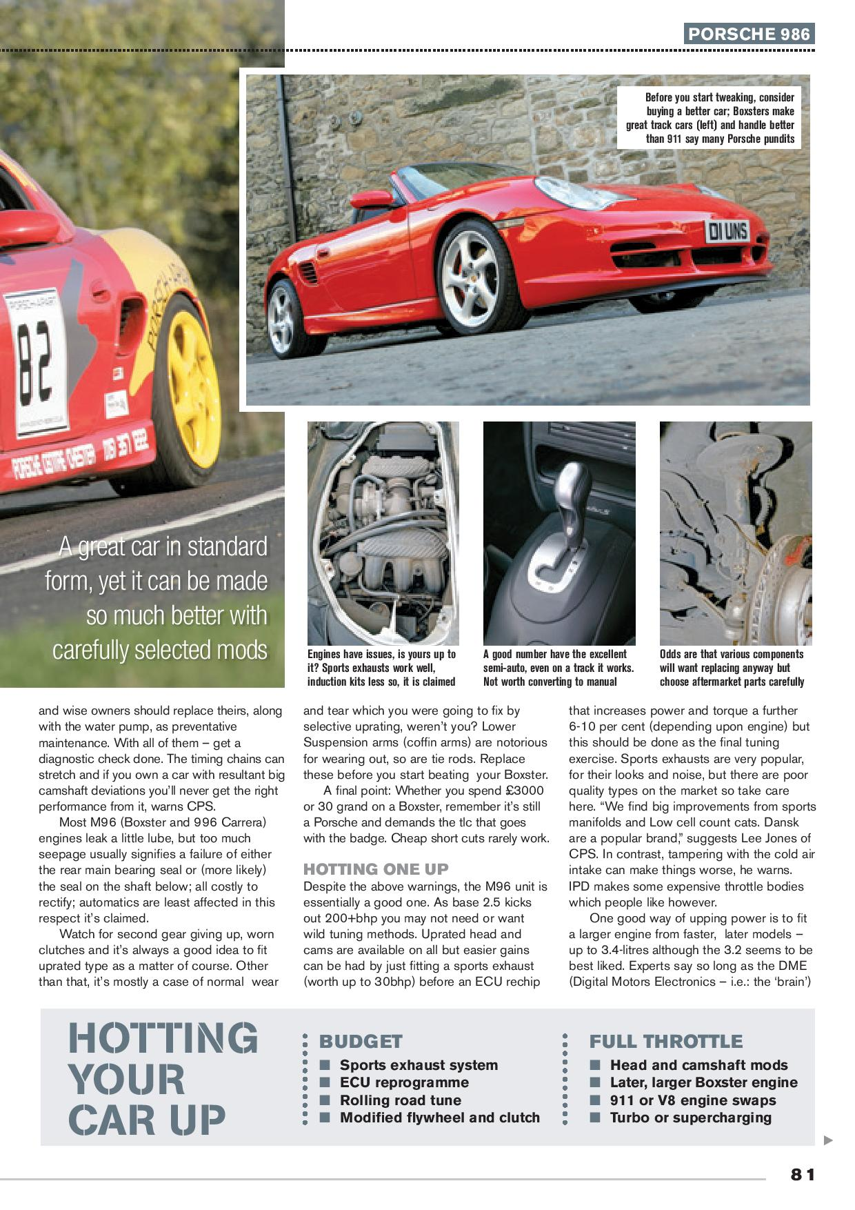 road and track page 002 Cotswold Porsche Specialists