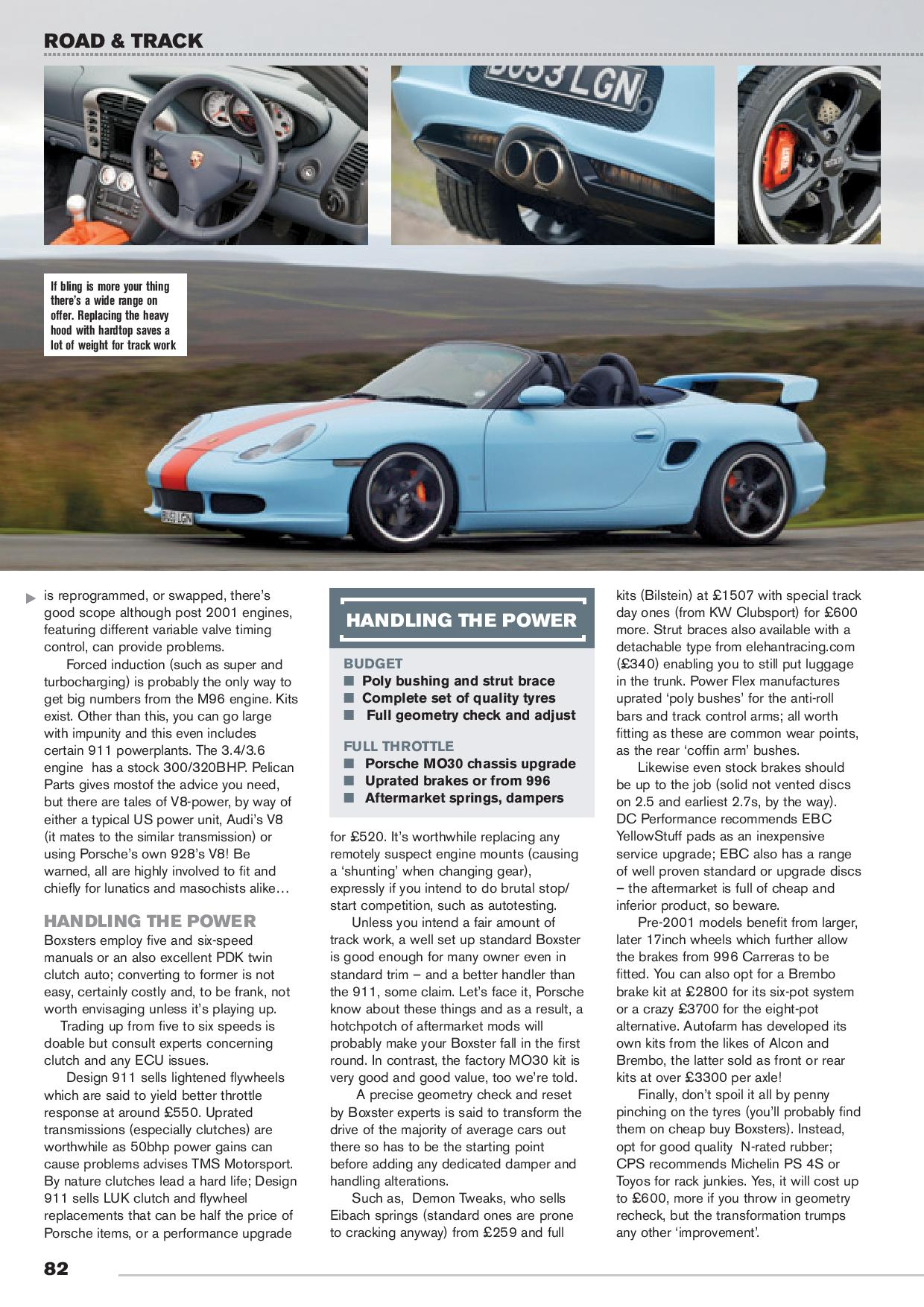 road and track page 003 Cotswold Porsche Specialists
